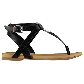 Aldo Womens Ladies Charnleigh Toe Post Ankle Strap Flats Sandals Summer Shoes