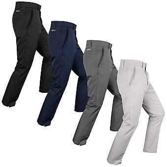 Greg Norman Mens Golf Flat Front Tech Trousers