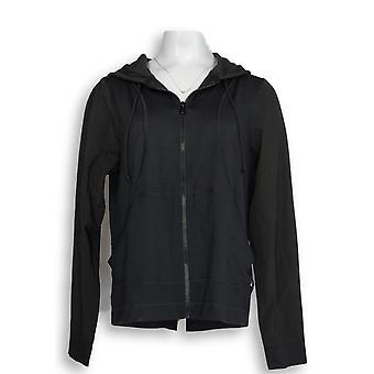 Noen kvinner ' s Flytt zip front Jacket svart A306093