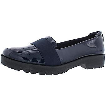 Anne Klein Sport Womens Beyond 3 Patent Round Toe Loafers
