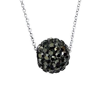 Ball - 925 Sterling Silver Jewelled Necklaces - W18867X