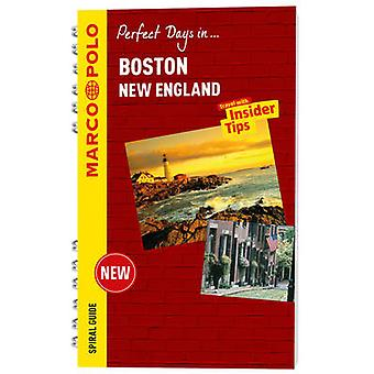 Boston Marco Polo Travel Guide  with pull out map