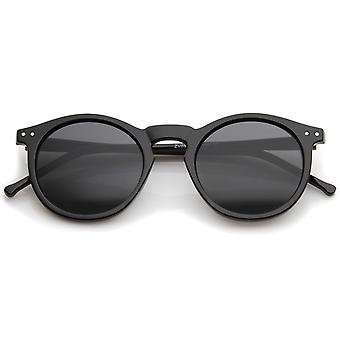 1920s Dapper Vintage-Inspired P3 Round Polarized Sunglasses 48mm