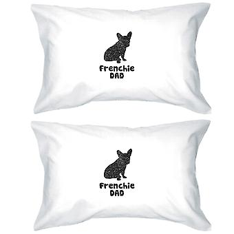 French Bulldog Dad Loving Pillowcases Standard Size Pillow Covers