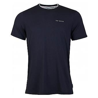 Ted Baker Rooma-T-shirt med mærke