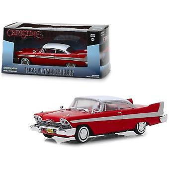 1958 Plymouth Fury Red Christine (1983) Film 1/43 Diecast Model Car par Greenlight