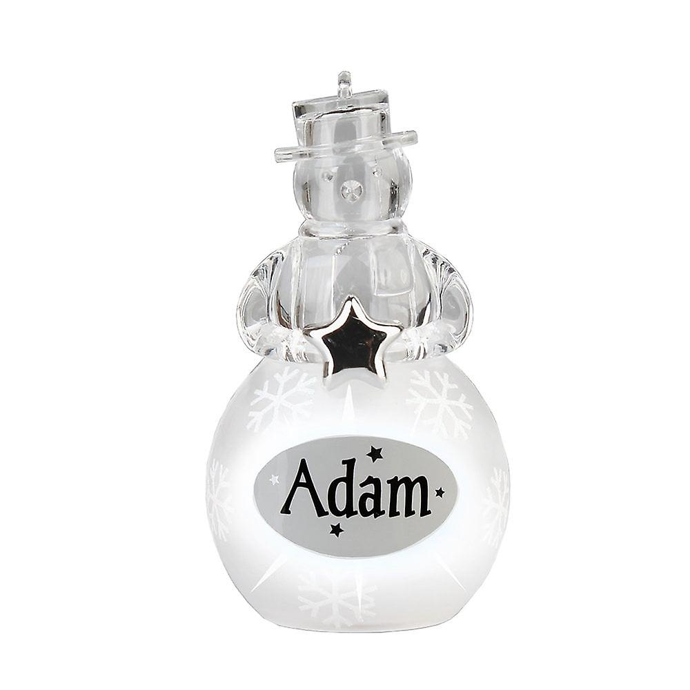 History & Heraldry Snowman - Adam