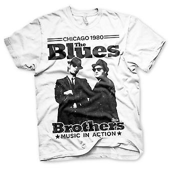 T-shirt officiel des Blues Brothers Jake et Elwood Chicago 80