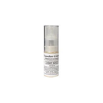 Spray de poeira de glitter puff em pó de açúcar - Ouro leve 10g