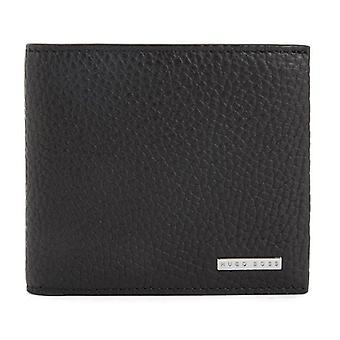Hugo Boss Crosstown 8 CC portofel din piele neagră 50390402