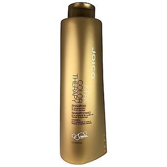 Joico k-pak color therapy shampoo repairs damaged hair & preserves color 33.8 oz