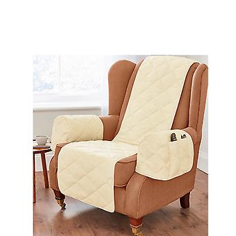 Chums Quilted Furniture Protectors/Armchair Organiser