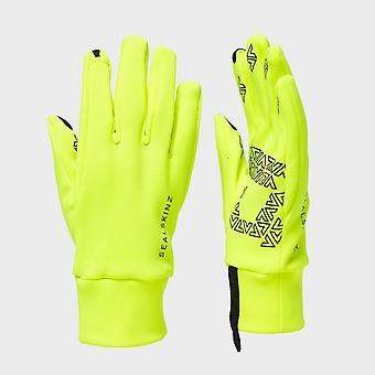 New Sealskinz Women's Fleece Nano Gloves Yellow