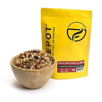 Firepot Chilli Con Carne with Rice Dehydrated Camping Food 135g