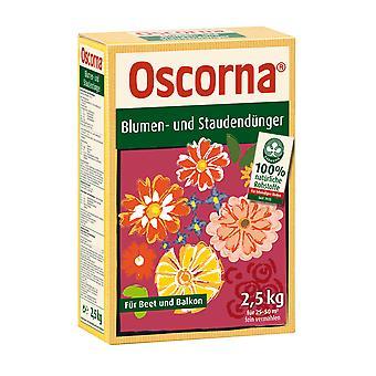 OSCORNA® flower and perennial fertilizer, 2.5 kg