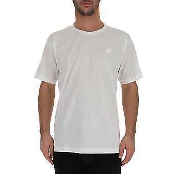 Acne Studios 25e173183 Men's White Cotton T-shirt