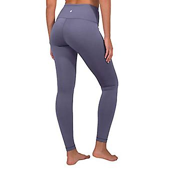 90 Degree By Reflex High Waist Fleece Lined Leggings - Yoga Pants - Lavender ...