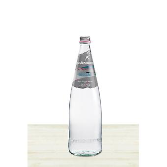 San Benedetto Water Natural Glass-( 1 Lt X 12 Bottles )