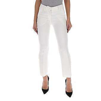 N°21 B04253361102 Women's White Cotton Pants