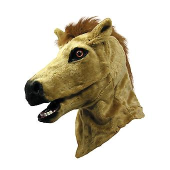 Bristol uutuus Unisex Aikuiset Faux Fur Horse Head Mask Moving Mouth