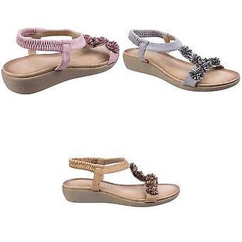 Vloot & Foster Womens/dames Matira T-Bar Slingback sandalen