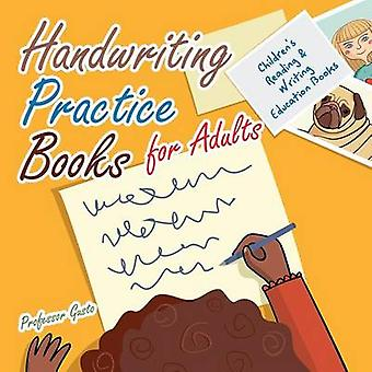 Handwriting Practice Books for Adults  Childrens Reading  Writing Education Books by Gusto & Professor