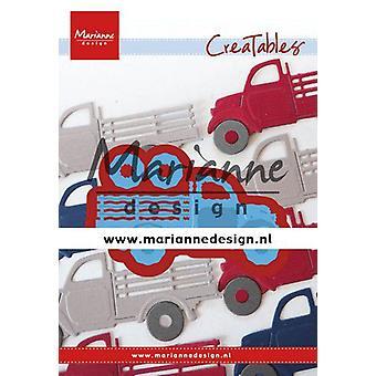 Marianne Design Creatables Cutting Dies - Pickup Truck LR0641