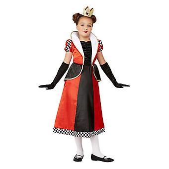 Dievčatá kráľovná srdce divov maškarný kostým