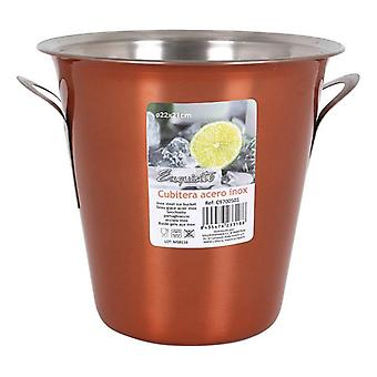 Ice Bucket Exquisite Exquisite Stainless steel/ø 14,2 x 13,5 cm