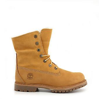 Timberland Women Brown Ankle boots -- AUTH112176