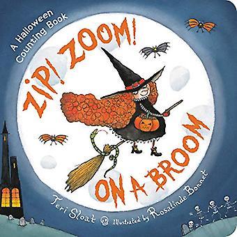 Zip! Zoom! On a Broom by Teri Sloat - 9780316256728 Book
