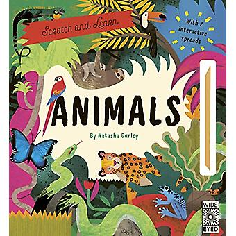 Scratch and Learn Animals - With 7 interactive spreads by Natasha Durl