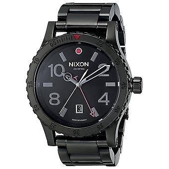 Nixon A277-1883 The Diplomat Men's Watch - Zwart
