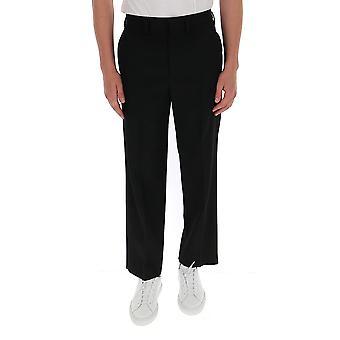 Balenciaga 622008tit171000 Men's Black Cotton Pants
