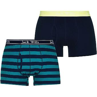 Jack Wills Chetwood Stripe Boxer Shorts Set
