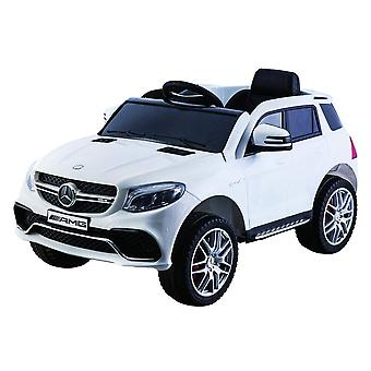Licensed Mercedes AMG GLE 63 S 12V Kids Electric Ride On Car White