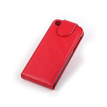 iPhone 5 Flip plån bok Läder fodral
