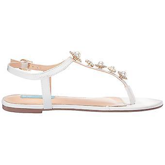 Betsey Johnson Women's Shoes SB-Laur Split Toe Casual Ankle Strap Sandals
