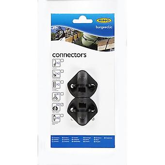 Ring Bungee Clic Wall Mounts (Pack of 2)