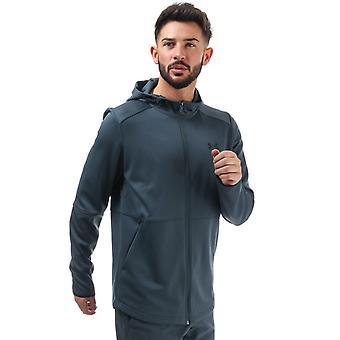 Under armour men's grey zipped hoody