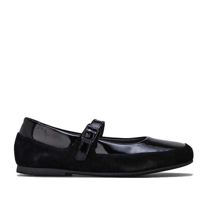 Women's Birkenstock Lismore Leather Shoes Regular in Black Y1YFD