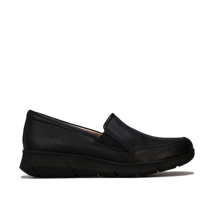 Women's Hush Puppies Rapidly Mardie Slip On Shoes in Black 0pwn5