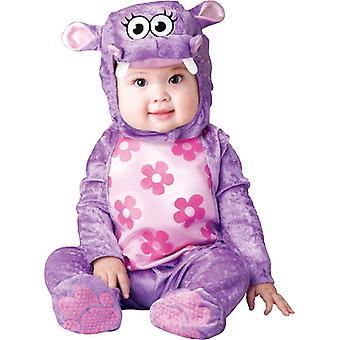 Flower Hippo Toddler Costume