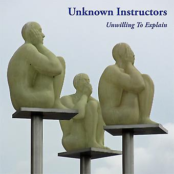 Unwilling To Explain [CD] USA import