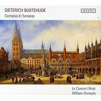 D. Buxtehuden urkumusiikkia - Dietrich Buxtehude: Kantaatteja & sonaatit [CD] USA tuonti