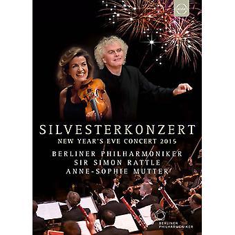 Simon Rattle - Berliner Philharmoniker - New Year's Eve Concert [DVD] USA import