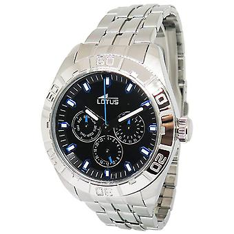 Lotus watches Quartz Analog Man Watch with 15814/D Stainless Steel Bracelet