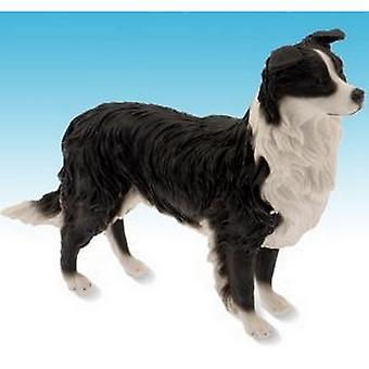 Border Collie Dog Stalking Figurine