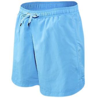 Saxx Underwear Co Cannonball 2N1 Regular Swim Shorts - Maui Blue