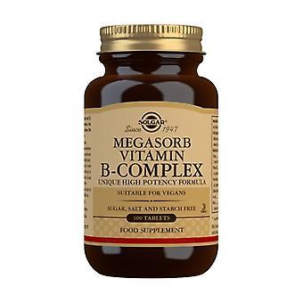 Megasorb B-Complex 100 tabletter
